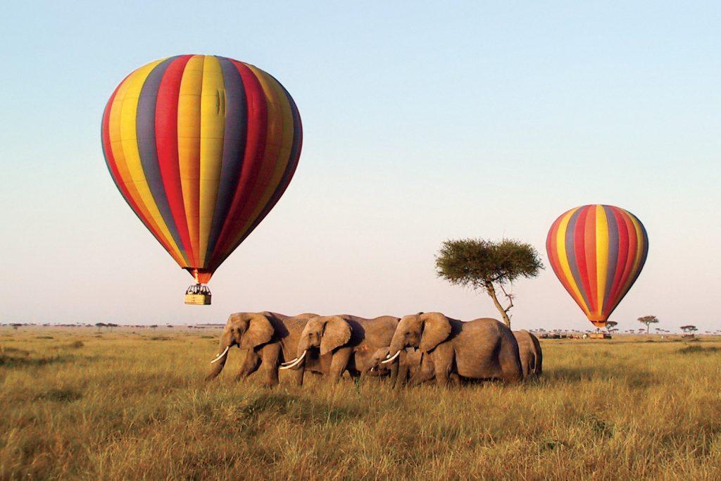 Kenya; Ballooning